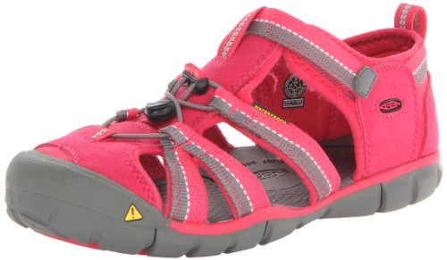 Keen Seacamp Ii Cnx Sandal (Toddler/Little Kid/Big Kid),Rose Red/Gargoyle,11 M Us Little Kid front-1033457