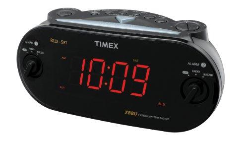 B 1231478977 together with Digital Alarm Clock Radio Manual 2109 furthermore 111987602098 besides 252287823580 besides 331601204712. on timex dual alarm am fm clock radio in black