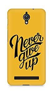 AMEZ never give up Back Cover For Asus Zenfone C ZC451CG