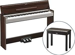 【純正固定イス BC-108DR セット】 YAMAHA / ヤマハ 電子ピアノ ARIUS (アリウス) YDP-S31 ダークアルダー調