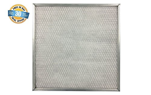 12x24x1 Electrostatic AC Furnace Air Filter Silver 94% Arrestance. Lifetime Warranty. Never Buy a New Filter (12 X 24 Washable Ac Filter compare prices)