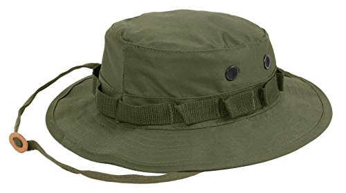 Rothco Boonie Hat, Olive Drab, 7 Olive Drab Branch