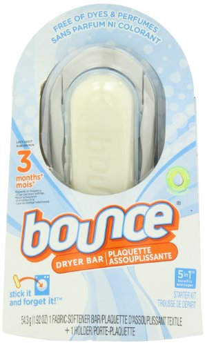 Bounce Free 3 Month Dryer Bar 1.92 Ounce (Bounce Dryer Sheets Unscented compare prices)