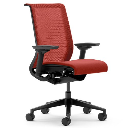 Steelcase think 3d mesh fabric chair, scarlet prices 46540100mfs