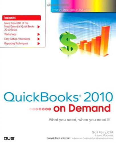 QuickBooks 2010 on Demand