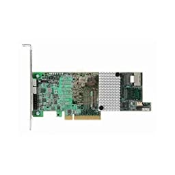 LSI LSI00305 Logic Controller Card MegaRAID 9266-4i 4Port Internal 1GB SATA/SAS PCI Express Single