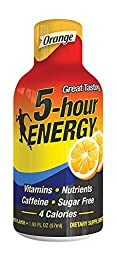 5 Hour Energy Energy Shots, Orange, 12 pk