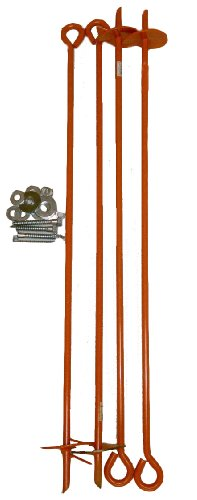 Outdoor Water Solutions Wpn0154 Wooden Windmill Anchor Kit