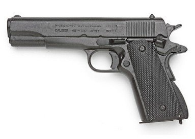 Details for Colt 45 Automatic Non-firing Replica by Denix