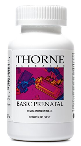 Thorne Research - Basic Prenatal - Folate Multivitamin for Women - 90 Vegetarian Capsules