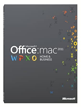 Office Mac Home and Business 2011 - (1 User/2 Installs)  [Download]
