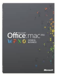 Office for Mac 2011 Home & Business (1 User/2 Installs) [OLD VERSION]