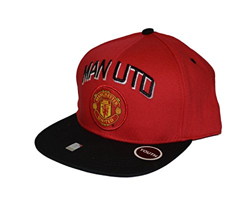 Manchester United Snapback Youth Kids Adjustable Cap Hat - Red -Black-white (Manchester United Hats And Caps compare prices)