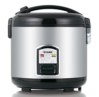 Oyama 5-cup All Stainless Rice Cooker