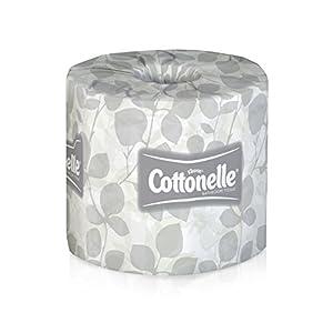 Kimberly-Clark 13135 Kleenex Cottonelle Standard Roll Toilet Paper, 13135 (20 Rolls/Case, 451 Sheets/Roll)