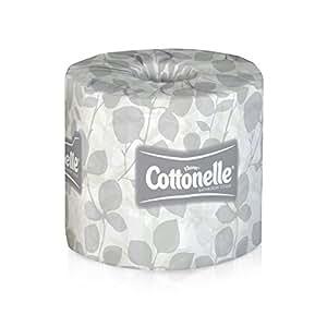 Kleenex Cottonelle Bulk Toilet Paper (13135), Standard Toilet Paper Rolls, 2-PLY, White, 20 Rolls / Case, 451 Sheets / Roll