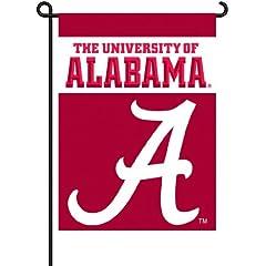 Buy NCAA Alabama Crimson Tide 2-Sided Garden Flag by BSI