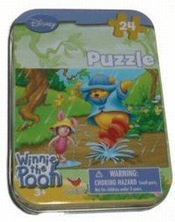Winnie The Pooh Travel Puzzle Set - Disneys Winnie The Pooh Puzzle Set (24pcs) - 1