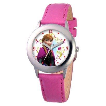 Queen watches pink parallel import goods and snow Disney Frozen Disney Ana