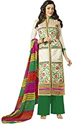 Aarti Lifestyle Women's Chanderi Cotton Salwar Suit Dress Material (24CA35-2003_24CA_Multicoloured)