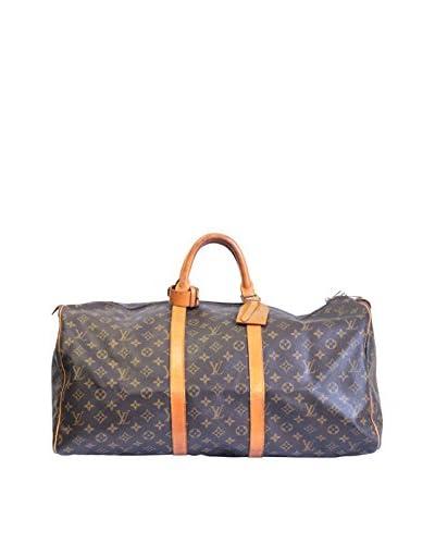 Louis Vuitton Monogram Duffel, Brown