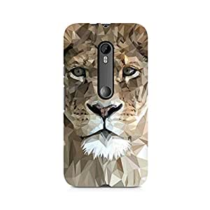 Ebby Abstract Lion Premium Printed Case For Moto X Style