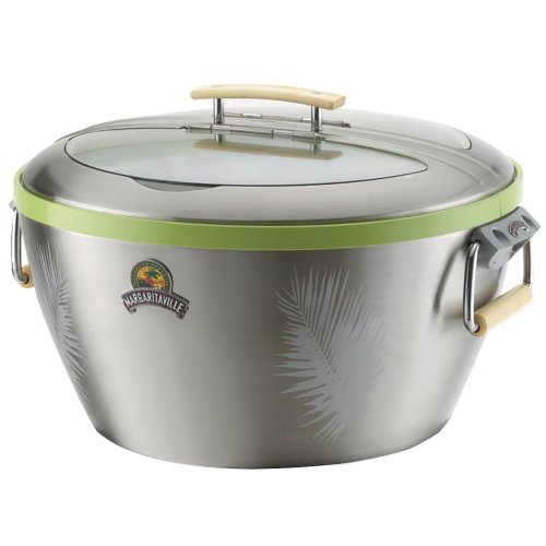 Margaritaville Cp1002-000-000 Party Tub Cooler, Stainless Steel