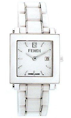 Fendi Women's F622140 Ceramic Analog Display Quartz White Watch