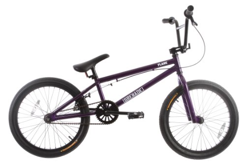 Grenade Flare Mens BMX Bike Purple 20