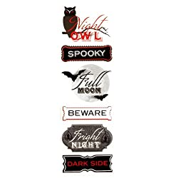 Martha Stewart Crafts Stickers Vampire Phrase By The Package