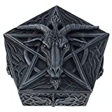 BAPHOMET HEAD TRINKET BOX IDOL OCCULT WORSHIP SATANISM SABBATIC GOAT