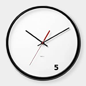 M&Co 5 O'Clock Wall Clock
