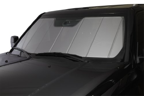 Covercraft UVS100 - Series Heat Shield Custom Fit Windshield Sunshade for Select Mercedes-Benz ML-Series Models  - Laminate Material (Silver)