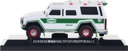 2014 Hess Miniature Sport Utility Vehicle