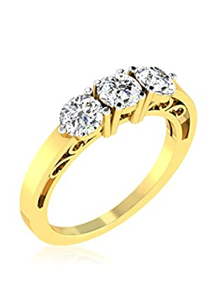 Friendly Diamonds Anillo FDR3135Y (Oro Amarillo)
