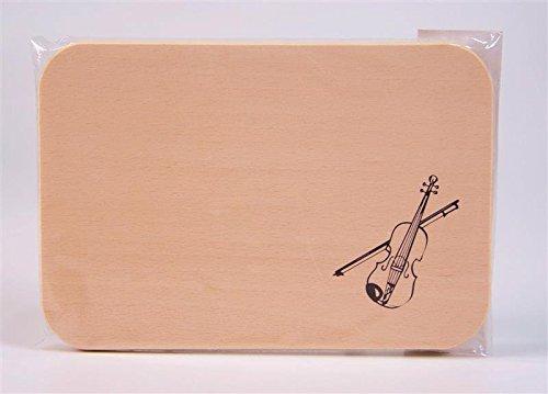 Brotzeitbrett-Geige-Schnes-Geschenk-fr-Musiker
