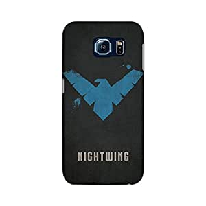 Samsung Galaxy S6 Designer Printed Covers (Samsung Galaxy S6 Back Cover) - Superhero Nightwing