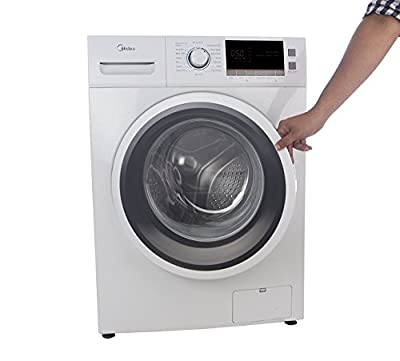 Midea MWMFL060CPR Fully-automatic Front-loading Washing Machine (6 Kg, White)