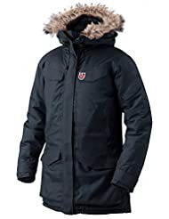 Fjallraven W Nuuk Parka - Dark Navy - L - Womens waterproof durable Hydratic® winter parka