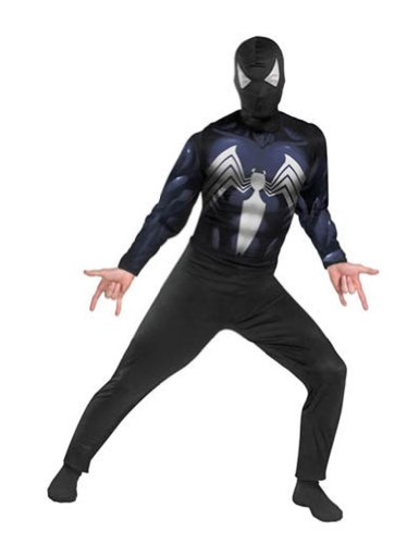 Spiderman Black Suited Adult Halloween Costume