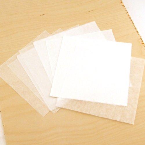 Wax paper Resist