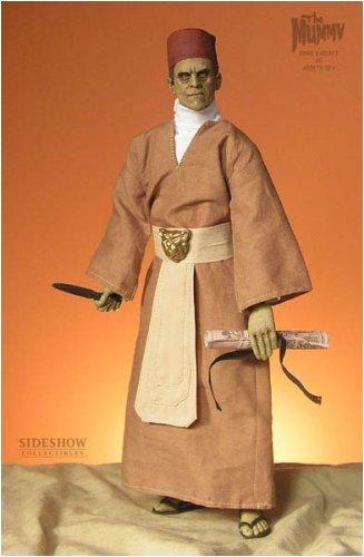 Buy Low Price Sideshow Ardeth Bey Universal Studios Mummy Monster Boris Karloff doll by Sideshow Toy Figure (B000EIC5FQ)
