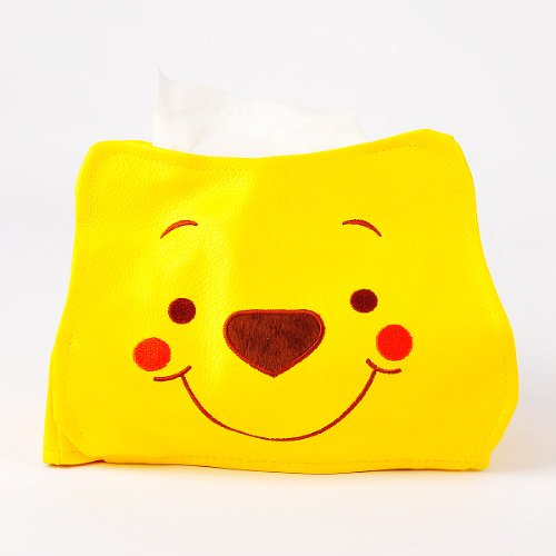 Deal Winnie the Pooh Home Tissue Box Cover Case Holder reviews