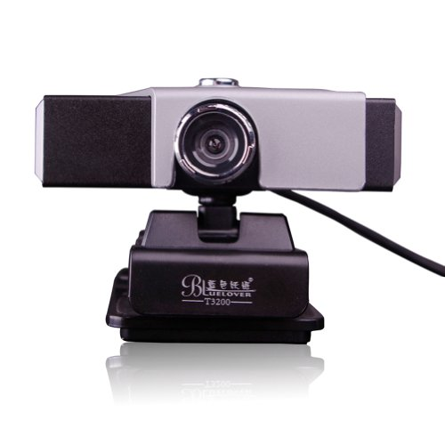 Blue Lover Usb Webcam Camera Web Cam With Mic Microphone For Desktop Pc Laptop Computer