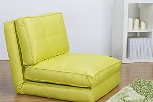 fauteuil chauffeuse convertible en lit d 39 appoint vert clair cuisine maison. Black Bedroom Furniture Sets. Home Design Ideas