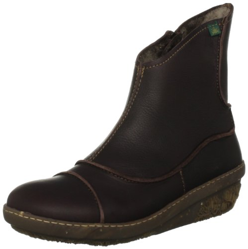 El Naturalista Women's N380 Brown Ankle Boots 3 UK
