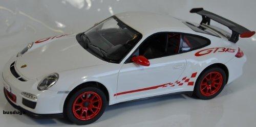 RC Porsche GT3 RS Maßstab.: 1:14 – ferngesteuert mit LED-Licht – komplett Set – Farbe.: weiß – LIZENZ-NACHBAU günstig als Geschenk kaufen