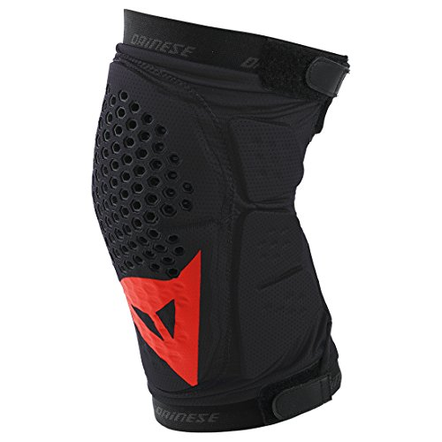 Dainese-Erwachsene-Protektor-Trail-Skins-Knee-Guard-BlackRed-L-3879654606