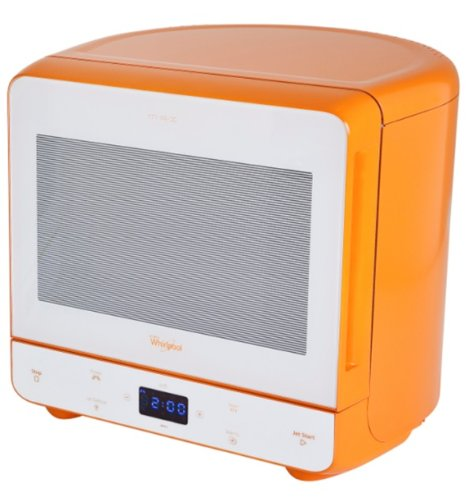 Whirlpool max 35 orange microwave review 13 litre 750w orange microwave oven reviews - Small space microwave photos ...
