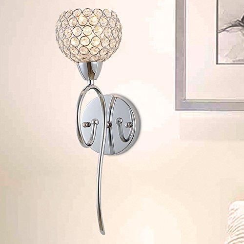 Lampe de chevet de chambre moderne et minimaliste de la lampe de mur Crystal Applique mur